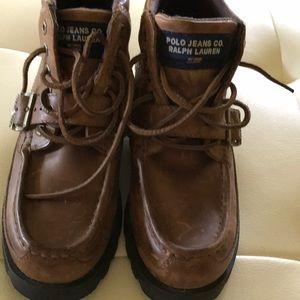 "91e2cbc3708 Ralph Lauren ""Polo Jeans Co."" Hiking boots"